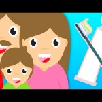 Toothbrush Song with Animated Surprise Eggs ★ Brush Your Teeth Song ★ Nursery Rhymes For Kids