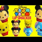 Tsum Tsum Lip Smackers and Frozen Lip Balms