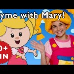 Twinkle Twinkle Little Star and More | Rhyme with Mary! | Nursery Rhymes from Mother Goose Club!