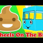 Wheels On The Bus | POOP Family | Nursery Rhymes | Songs for Children by Animated Surprise Eggs