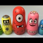 Yo Gabba Gabba Stacking Cups Surprise Peppa Pig Sofia the First Paw Patrol Learn Colors and Counting