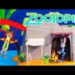 ZOOTOPIA Disney Officer Judy Hopps and Nick's Island Fun + Scooby Doo Toys Video Parody