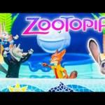 ZOOTOPIA Disney Zootopia Pool Party Problems Officer Judy Hopps Zootopia Video Toy Parody
