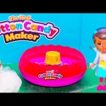 COTTON CANDY Maker Paw Patrol + Doc McStuffins How to Make Cotton Candy Video Unboxing