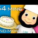 Pat A Cake | Plus Lots More Nursery Rhymes! | From LittleBabyBum!