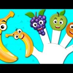 Fruits Finger Family   Nursery Rhymes From Kids tv