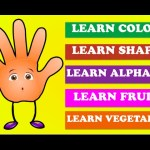 Finger Learning Collection – Learn Colors | Learn Shapes | Learn Alphabets