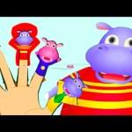 Hippo Finger Family – Nursery Rhymes For Children