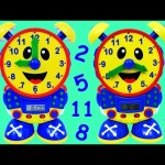 LEARN HOW TO TELL TIME Preschool Educational Toy Learn Numbers, Counting Surprise Toys