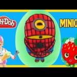 Marvel SPIDERMAN Minion Giant Surprise Play Doh Egg   Spider-man Surprise Toys Huevos Sorpresas