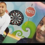 شاهد طوشه حنان الطرايره مع اخوها على الهواء مباشره  قناة كراميش Karameesh Tv