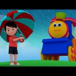 Bob The Train | Rain Rain Go Away | Nursery Rhymes And Kids Songs With Bob | Kids TV