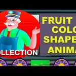 Learning Train Collection Vol 1 – Learn Colors   Shapes   Fruits   Animals
