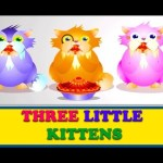 Three Little Kittens – Story n Rhyme | Nursery Rhymes For Children
