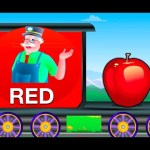 Color Train – Mr.Bell's Learning Train | Learning For Children