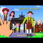 German Finger Family Nursery Rhyme | Deutsch Finger Familie Kinderlieder