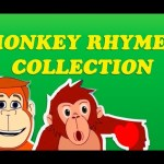 Monkey Rhymes Collection | Funny Monkey Nursery Rhymes For Children