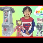 3DIT Character Creator Mold Maker Toys for Kids Marvel SuperHeroes Iron Man Ryan ToysReview