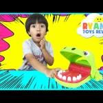 Crocodile Dentist Challenge Family Fun Game for Kids Disney Cars Toys Eggs Surprise Tsum Tsum