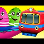 Surprise Eggs Toys – Public Transport Vehicles for Kids | Aeroplane & more | ChuChuTV Egg Surprise