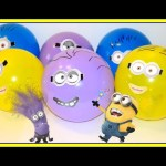 Minions Balloons Surprise Hello Kitty  Disney Inside Out MLP Peppa Pig, Shopkins