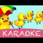 karaoke: Five Little Ducks – Instrumental Version With Lyrics HD from LittleBabyBum!
