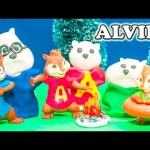 ALVIN AND THE CHIPMUNKS Nickelodeon Alvin and The Chipmunks with Snow Play Doh Alvin Video Parody