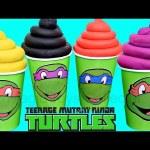Teenage Mutant Ninja Turtles PlayDoh Ice cream Surprise Toys Mashems Bling Bags Shopkins Care Bears