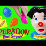 OPERATION Brain Surgery CHALLENGE! Family Fun Night Board Game & Hospital DisneyCarToys vs Spidey