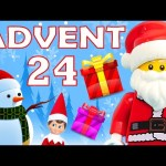 Toy Advent Calendar Day 24 – – Shopkins LEGO Friends Play Doh Minions My Little Pony Disney Princess