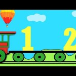 Number Train (1-10) Learning for kids