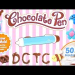 CANDY PEN — Make Chocolate SURPRISE EGGS and Drawing Yummy Treats by DCTC