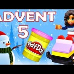 Toy Advent Calendar Day 5 – – Shopkins LEGO Friends Play Doh Minions My Little Pony Disney Princess