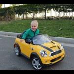 The Yellow MINI Cooper Ride-On
