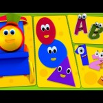 Bob The Train | Bob And Preschool | Phonics Song | ABC Song | Numbers Song | Shapes Song