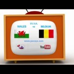 Pocoyo football: EURO 2016 – WALES vs. BELGIUM – 1st July
