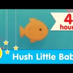 💤 4 HOURS 💤 | Hush Little Baby Piano Lullaby for Bedtime | Super Simple Songs