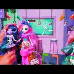 My little pony Equestria girls rainbow rocks. Unboxing video review