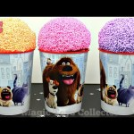 The Secret Life of Pets Surprises Play Foam Ice cream bling bags Finding Dory