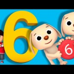 Numbers Song | Number 6 | Nursery Rhymes | By LittleBabyBum!