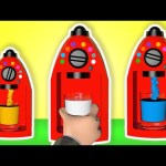 Learn Colors 3D Color Machine Teach Colours Baby Children Learning Videos Nursery Rhymes Kids Songs