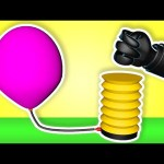 Balloons Popping Show 3D for Learning Colors | Teach Colours Baby Kids Children's Educational Video