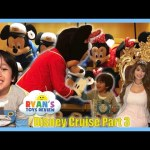 Disney Cruise Fantasy Family Fun Vacation Tour Part 3 Minnie Mouse Egg Surprise Toys Minions