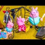 PEPPA PIG Nickelodeon Peppa Pig Haunted Car Ride Peppa Toys Video Parody