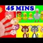 Ten in the Bed | Five little Ducks | Wheels on the Bus | Kids Songs and Nursery Rhymes