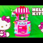 HELO KITTY The Hello Kitty Kitchen ハローキティa Hello Kitty Video Toy Unboxing Video