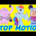 FROZEN Stop Motion Play Doh Changing Elsa – My Little Pony, Inside Out Animation