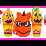 Surprise Pumpkin Eggs My Little Pony Play Doh Halloween New MLP Radz Candy Toys