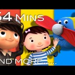Planes Song | Plus Lots More Nursery Rhymes | From LittleBabyBum!