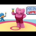 Pocoyo Games – Caterpillar, the bravest wrestler | Rio 2016 Olympics